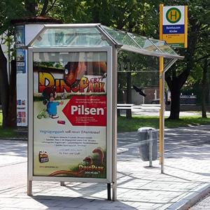 Werbekampagne Techmania Science Center und DinoPark Pilsen
